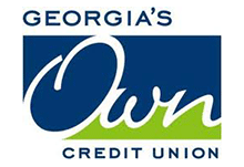 Logo for Georgia's Own Credit Union, a company that uses Teleira's telecommunications services for business continuity