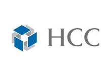 Logo for HCC Life Insurance, a company that uses Teleira's telecommunications services for business continuity