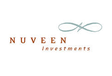 Logo for Nuveen Investment, a company that uses Teleira's telecommunications services for business continuity