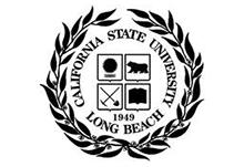 Logo for California State University Long Beach, a company that uses Teleira's telecommunications services for business continuity